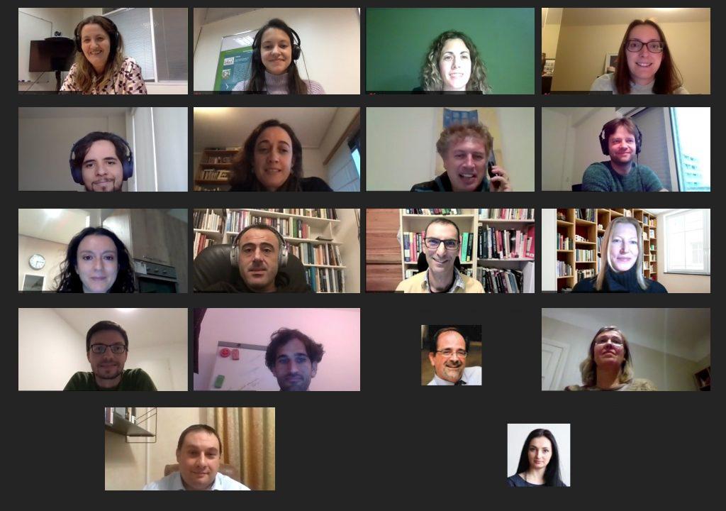 December 2020 online Meeting